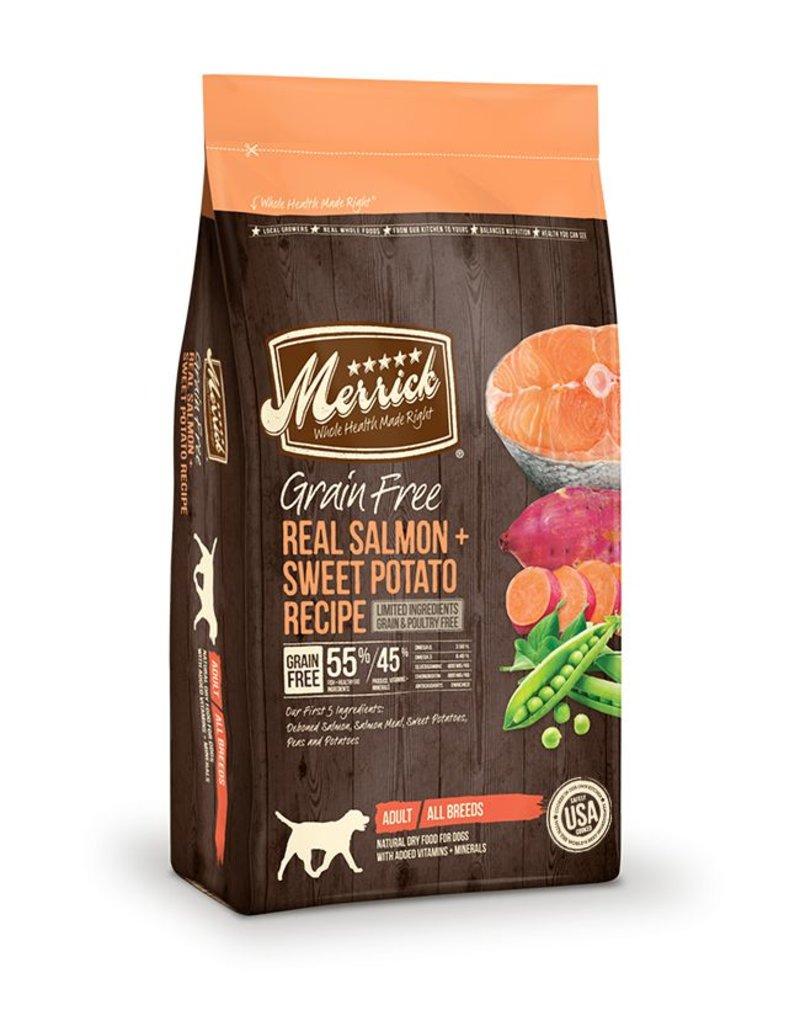 Merrick Dry Dog Grain Free Salmon & Sweet Potato 4 LB