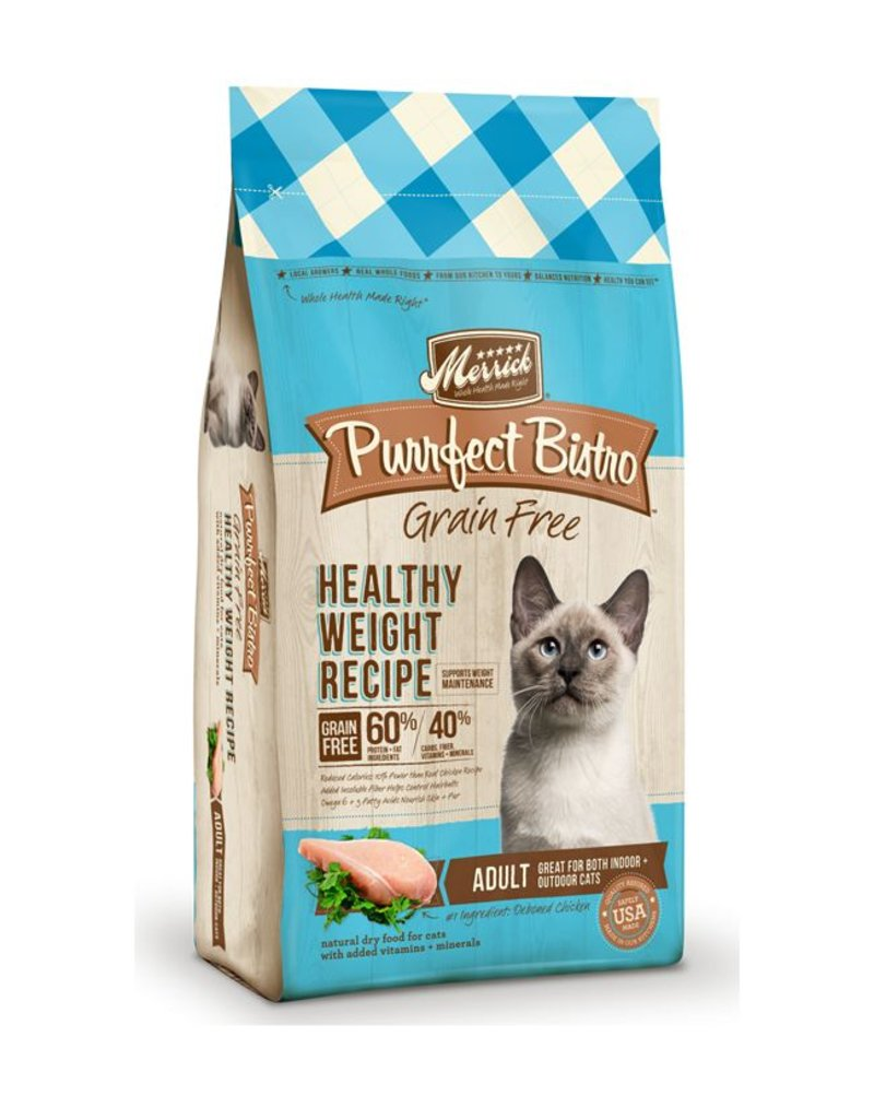 Merrick Purrfect Bistro Dry Cat Healthy Weight 4 LB