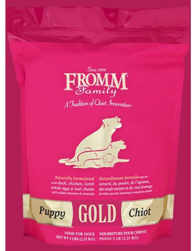Fromm Family Pet Food Fromm Dry Dog Gold Puppy 5 LB