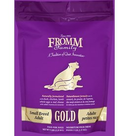 Fromm Family Pet Food FROMM GOLD DRY DOG Small BREED ADULT DOG 5 LB