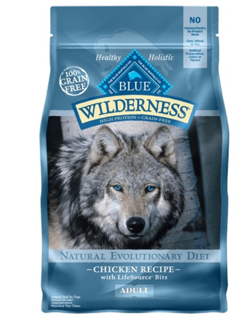 Blue Buffalo Dry Dog Wilderness Chicken 4.5 lb