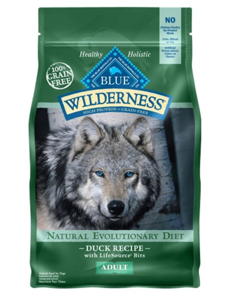 Blue Buffalo Dry Dog Wilderness Duck 4.5 LB