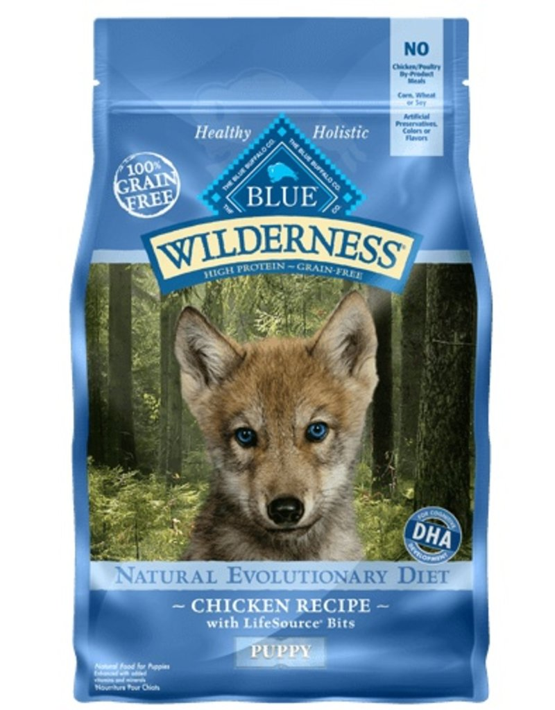 Blue Buffalo Dry Dog Wilderness Puppy 4.5 LB