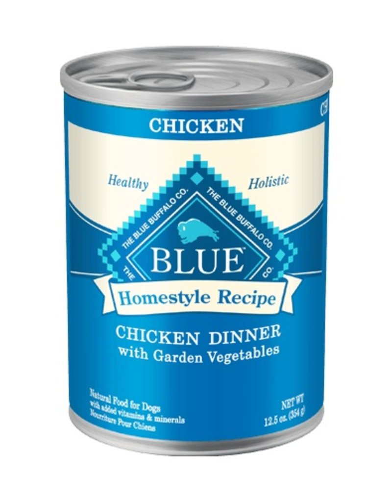 Blue Buffalo Canned Dog Chicken Dinner 12.5 OZ