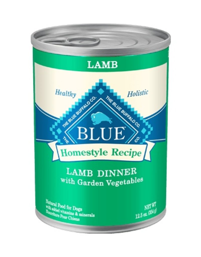 Blue Buffalo Canned Dog Lamb Dinner 12.5 OZ
