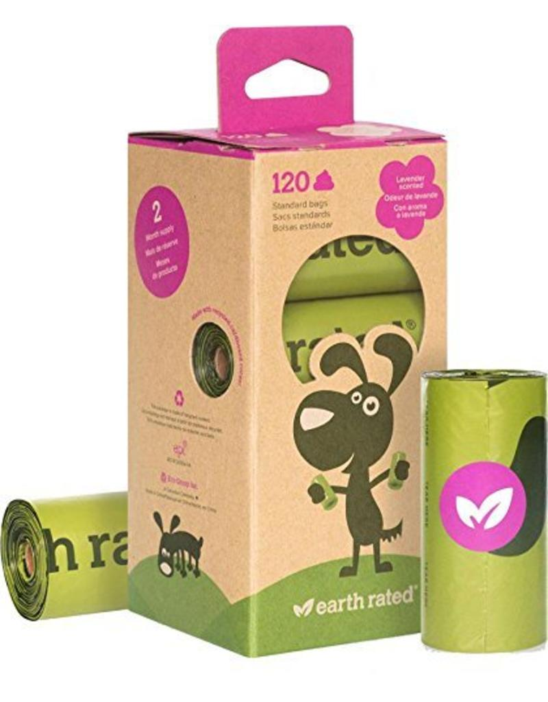 EARTH RATED POOPBAGS Earth Rated Poop Bags Case 120 Eco-Friendly 8 Roll Bags