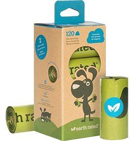 Earth Rated Poop Bags Case 120 Eco-Friendly Bags Unscented