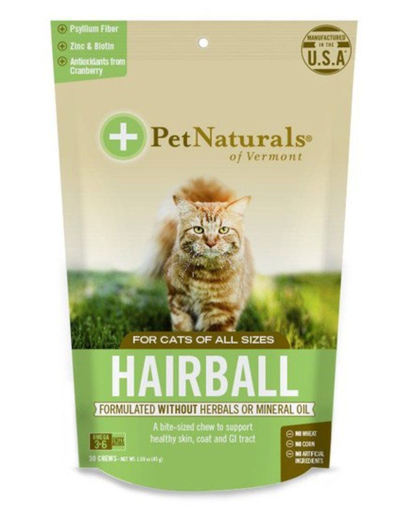 Pet Naturals of Vermont Hairball for Cats 30 Chews