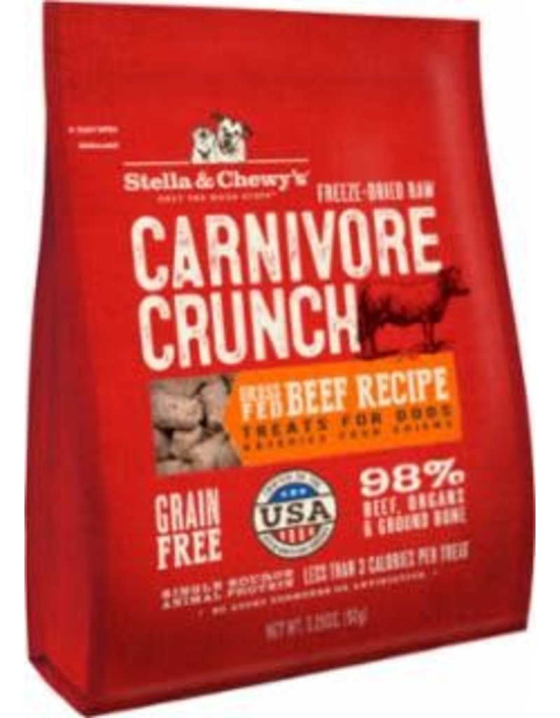 Stella & Chewy's Crunch Treat 3.25 OZ