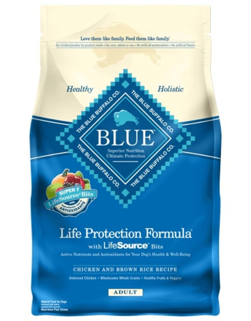 Blue Buffalo Dry Dog Chicken & Brown Rice Adult 15 lb