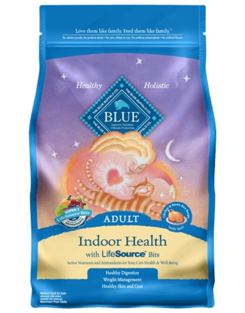 Blue Buffalo Dry Cat Indoor Health 3 LB
