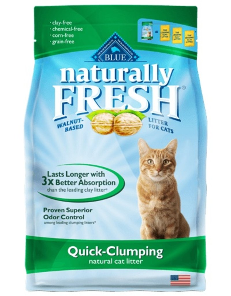 Blue Buffalo Naturally Fresh Quick-Clumping Cat Litter 14 lb