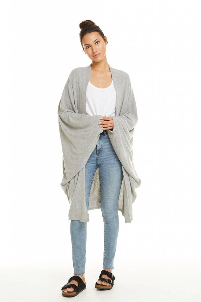 fe24e8121db90 West of Camden » Chaser Love Knit Cocoon Cardigan