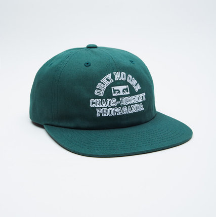 842f5225 West of Camden » Obey Clothing Mission 6 Panel Snapback / Forest