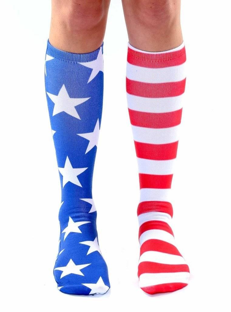 83900f28b West of Camden » Living Royal - Stars and Stripes Knee High Socks