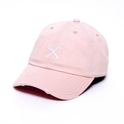 e58758d51d1 King Apparel Hardgraft Curved Peak Pink Distressed