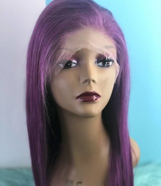 "16"" Full Transparent Lace Wig. 180% Density"