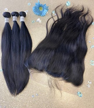 "Truly Mink Frontals 13""x6"""