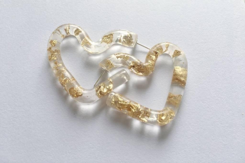 MARS Heartbreak Hoops, Gold Foil