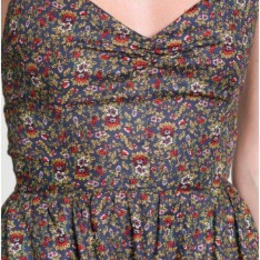 DRA Monique Dress in Fiorello Print