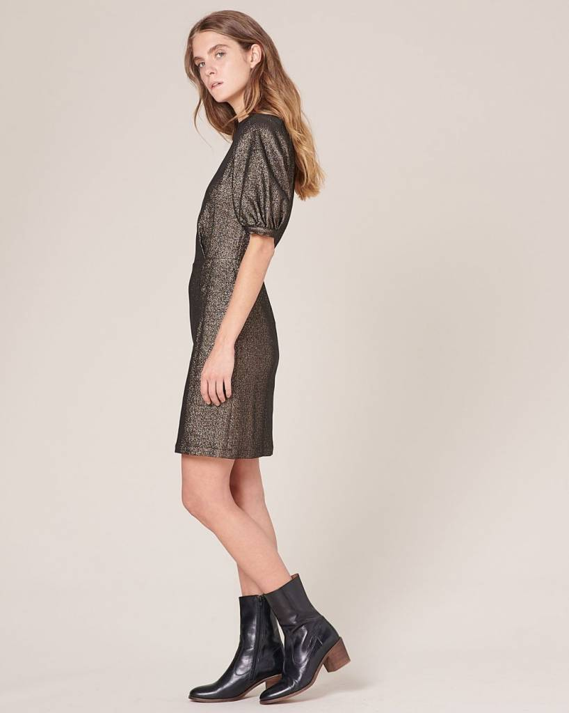 Sessun Nells Dress, Night Gold