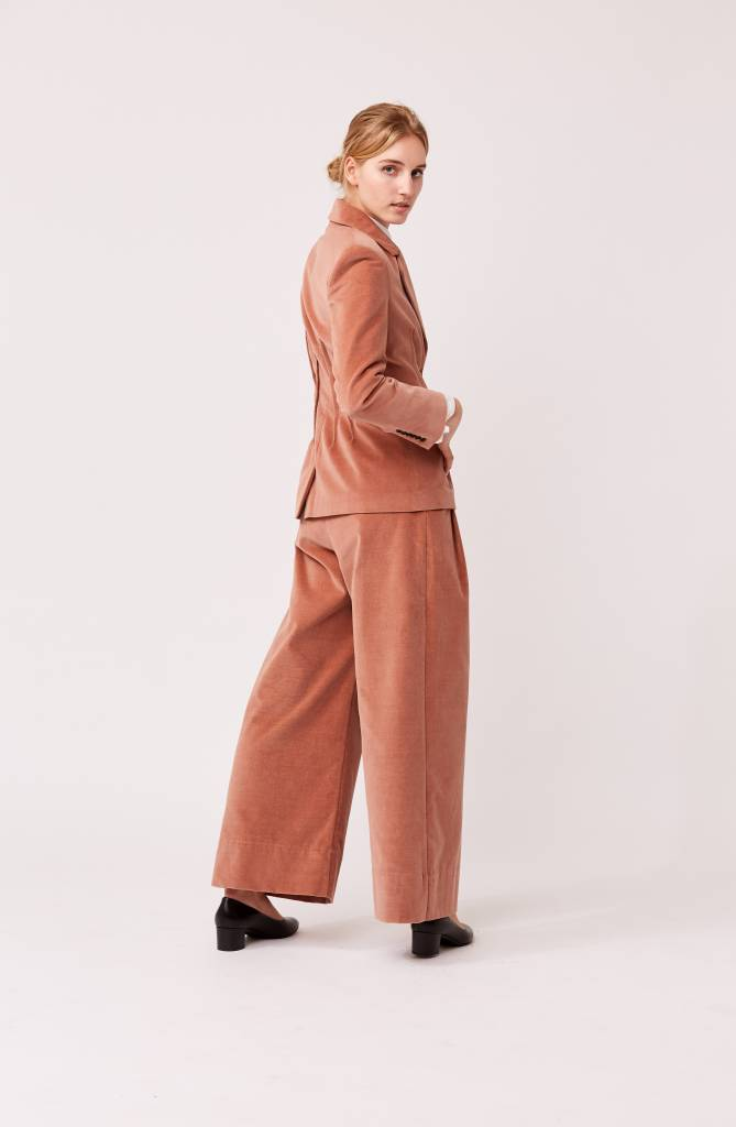 Mr Larkin Jane Blazer, Dust Pink
