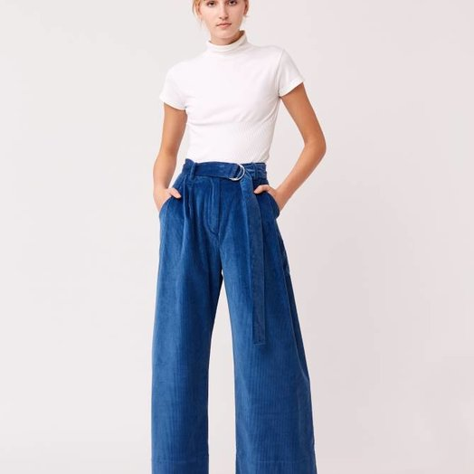 Mr Larkin Babe Wide Pant, Hilma Blue