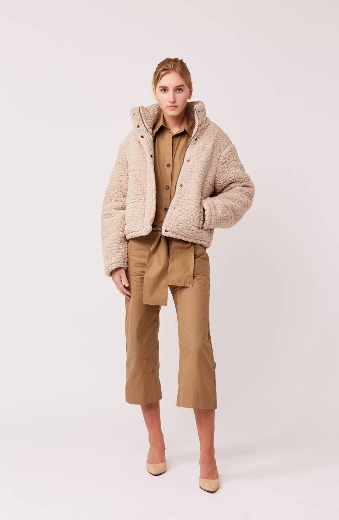 Native Youth Sherpa Puffer Jacket