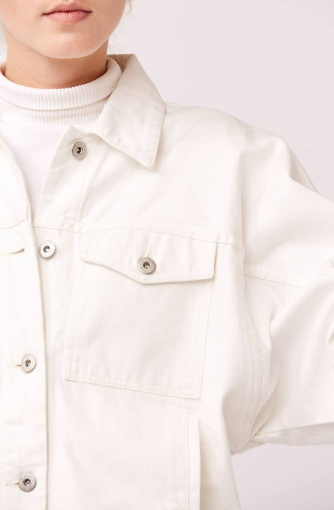 Kowtow Formation Jacket, Ecru Denim