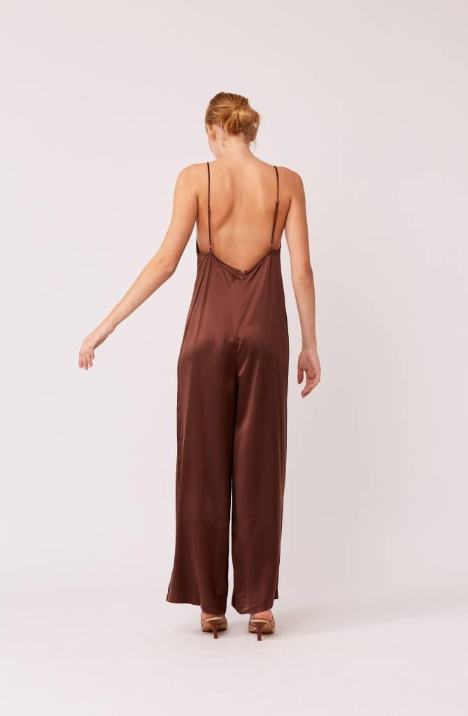 Capulet Mink Silk Jumpsuit