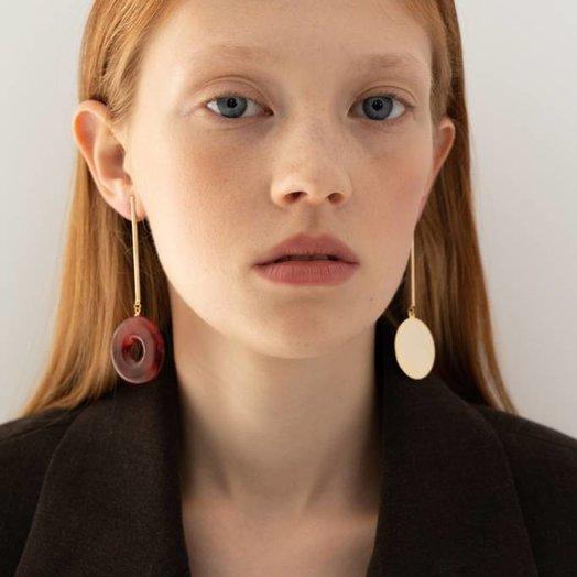 Bae Bae Separate Bar Earrings