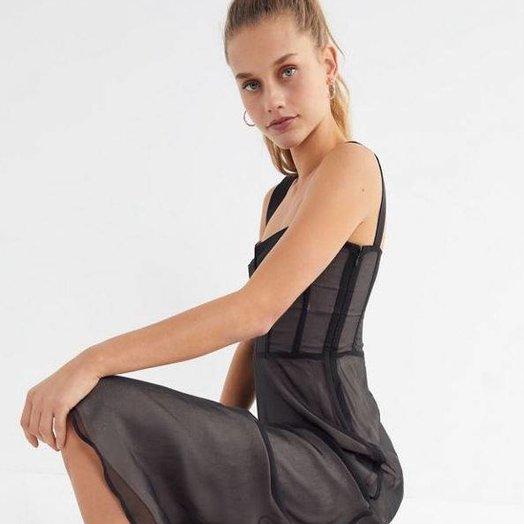 Capulet Hanni Mesh Bustier Dress