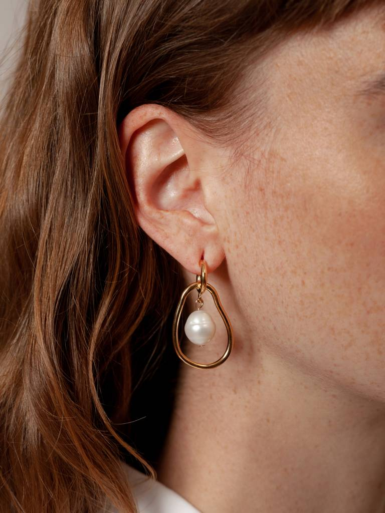 Wolf Circus Gold Plated Constance Earrings