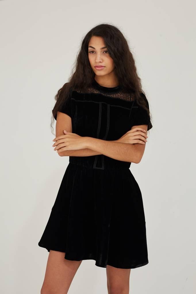 Sessun Anatolia Robe, Black