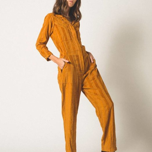The Odells Machina Jumpsuit Rust