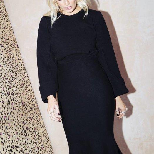 Never Fully Dressed Audrey Set, Black