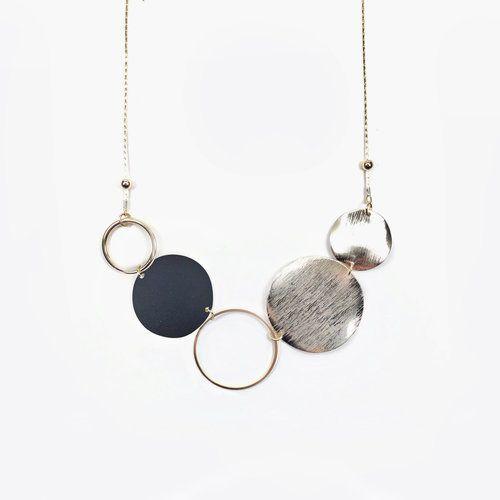 Mixed Circle Necklace