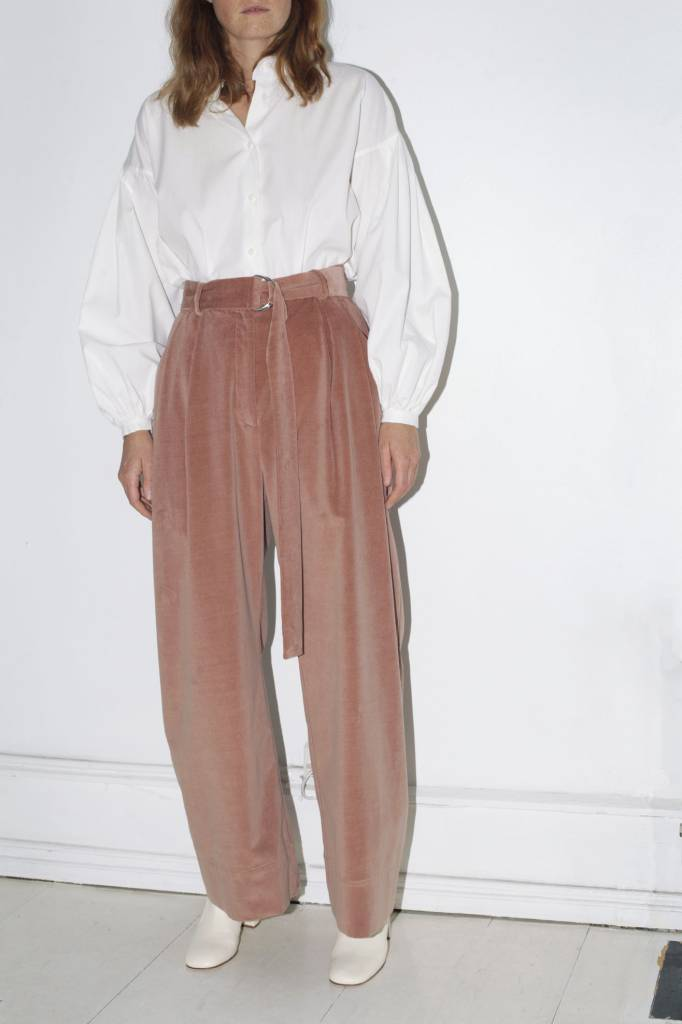 Mr Larkin Babe Wide Pant, Dust Pink