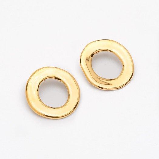 Pedrusco Cumbia Gold Earrings