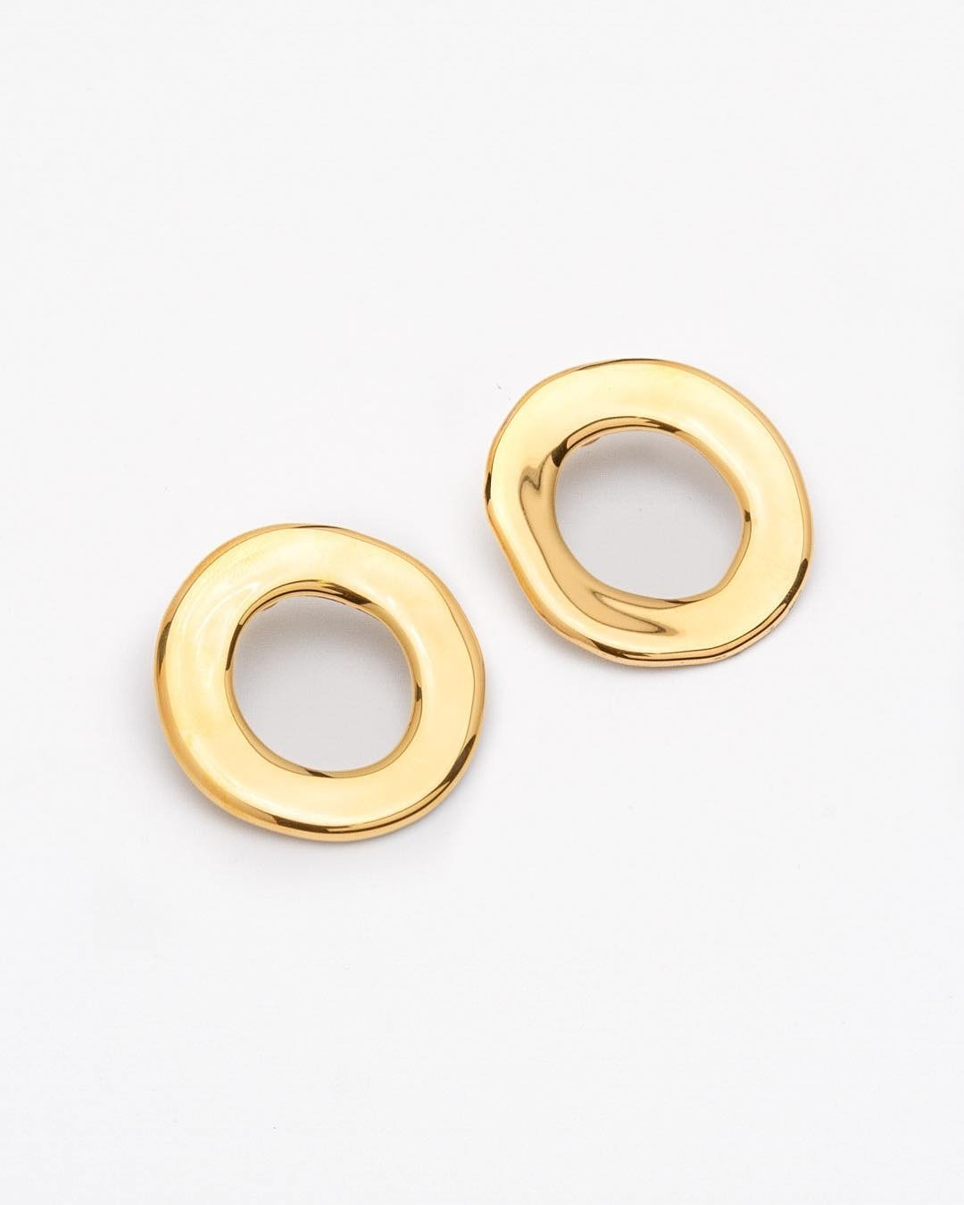 Pedrusco Cumbia Gold Earrings