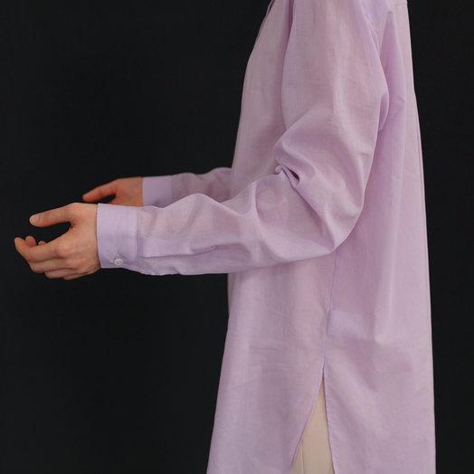 Amomento Sheer Long Shirt