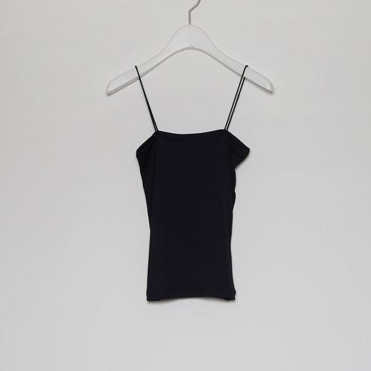 Amomento Thin String Cami, Black