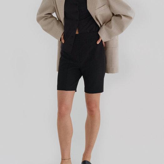 Amomento Cycle Shorts, Black