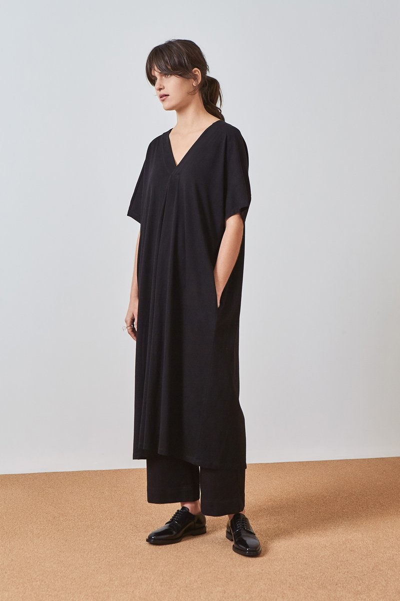 Kowtow Building Block Pleat Dress