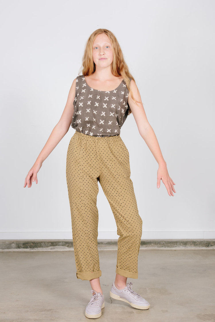 PO-EM Lounger Pants in Natural