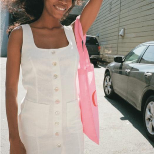 Lisa Says Gah Ivory Dress