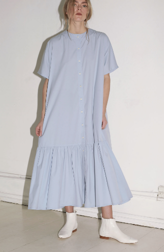 Mr Larkin Nadine Dress, Cloud