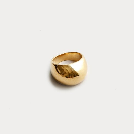 Wolf Circus Fera Ring, 14 K Gold Plated, Size 6