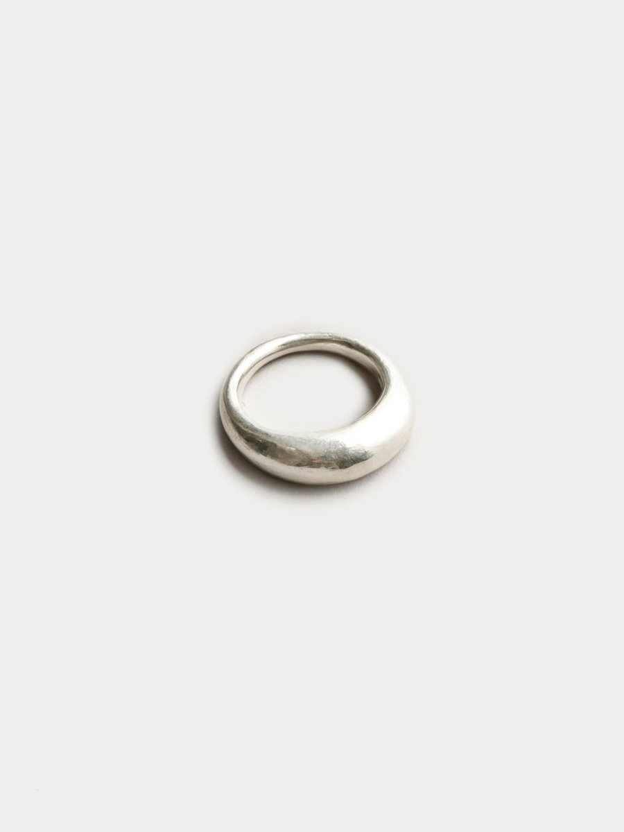 Wolf Circus Emelie Grande Ring, Sterling Silver, Size 6