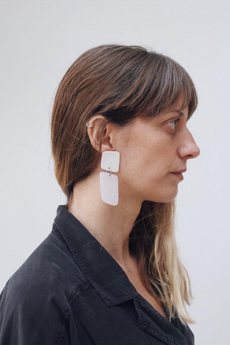 hello zephyr Pure Earrings